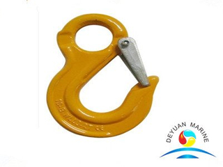 Italian Type Clevis Slip Hooks with Latches for Lifting