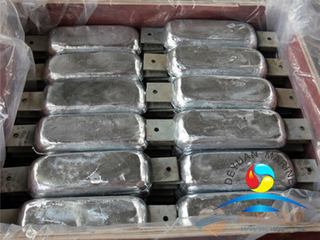 Zinc Anodes for Sea Water Cooling System