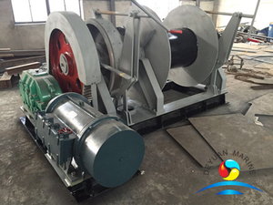 Electric Single Gypsy Anchor Windlasses Winches With CCS/BV Certificate