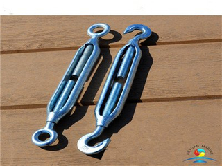 US type Galvanized Quenched and Tempered Hook and Hook Turnbuckles