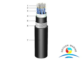 150/250V EPR Insulated Fire Resistant Marine Instrumentation Cable