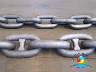 Marine Mooring Grade AM2 Cast Steel Stud Link Ship Anchor Chain