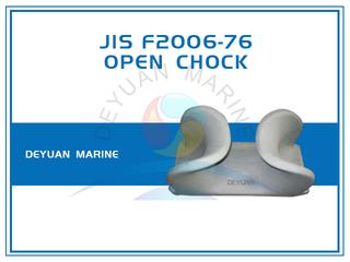Deck Mounted SC Type JIS F2006-76 Open Chocks Cast Steel