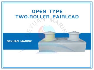 JIS F2014 Open Type Fairlead Roller In Group Two Roller