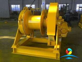 Marine Hydraulic single side mooring winch with one drum