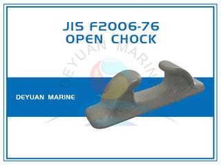 Deck Mounted FC Type JIS F2006-76 Open Chocks Cast Iron