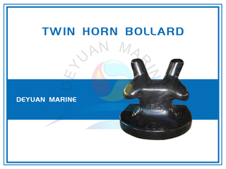 Ductile Cast Iron Twin Horn Bollard for Mooring