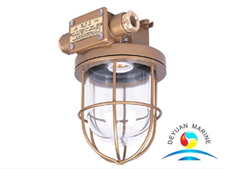 CCD9-5 Series Marine Incandescent Pendant Light Brass Red/Yellow color