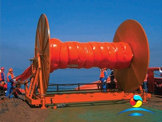 KW1000 Quick Laying Oil Containment Boom