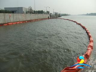 Solid Float PVC Oil Boom