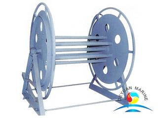 CB/T 498-95 Mooring Synthetic Fiber Rope Reel Deck Mounted Rope Storage or Rope Winder