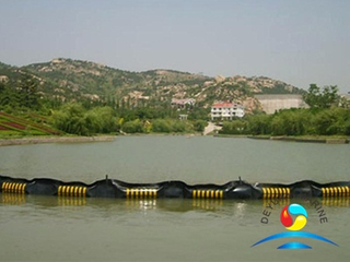 Solid-Floatation Rubber Boom