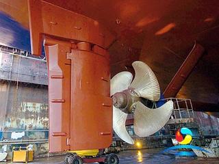 Marine Ship Rudder Propeller Rudder Balde With CCS Approval