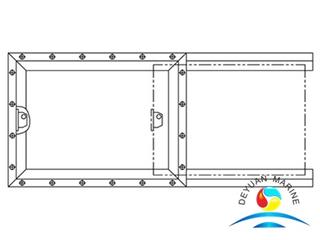 Marine Fire-retardant Type Service Window For Boat