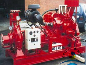 KD type full automatic diesel powered emergency water pump
