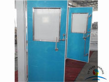 ISO Marine Aluminium Hollowed Cabin Door For Boat
