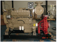XBC Series Diesel engine fire pump Install On Ship Deck