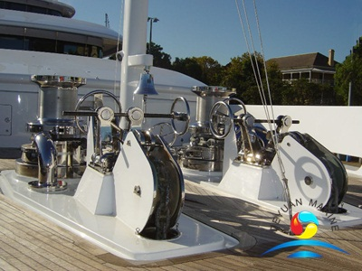 Stainless Steel Yacht Hydraulic Double Gypsy Anchor Windlass