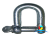 JIS Type Hammer Forging Dee Shackle with Collar For Lifting