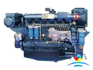 WP12C Series Low Fuel Consumption Diesel Marine Engine