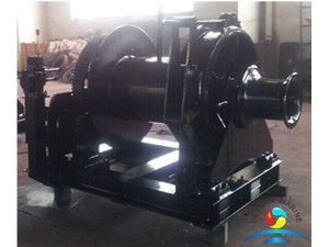 Marine Hydraulic Single Drum Anchor Winch With Capstan For Ship