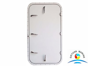 Marine Aluminum Single Leaf Door With Weatherproof Material
