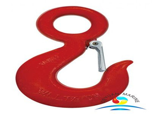 S320 US Type Alloy Steel Eye Hook with Safety Latch