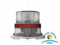 1-2NM+ SOLAR marine navigation light for offshore oilfield derrick