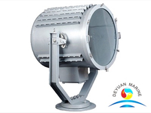 TZ3 Marine Stainless Steel Manual Control Searchlight for Tug Boat