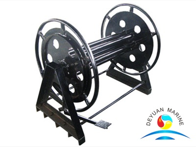 Mooring Reel For Synthetic Fiber Rope CB/T 498-95 Standard Manual Wire Cable Reel