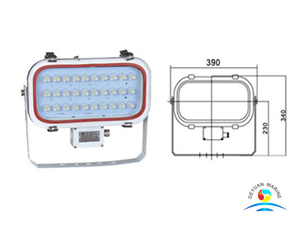90V Boat TG20 LED Spot Lights For Marine Use