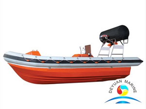 SOLAS Inflatable Fender Fast Rescue Boat Inboard Engine With Davit