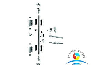 Two Anti-theft Points Door Locking System For Dry Cargo Steel Container