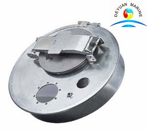 Marine Ship Ballast Liquid Tank Manhole Cover With Check Hole