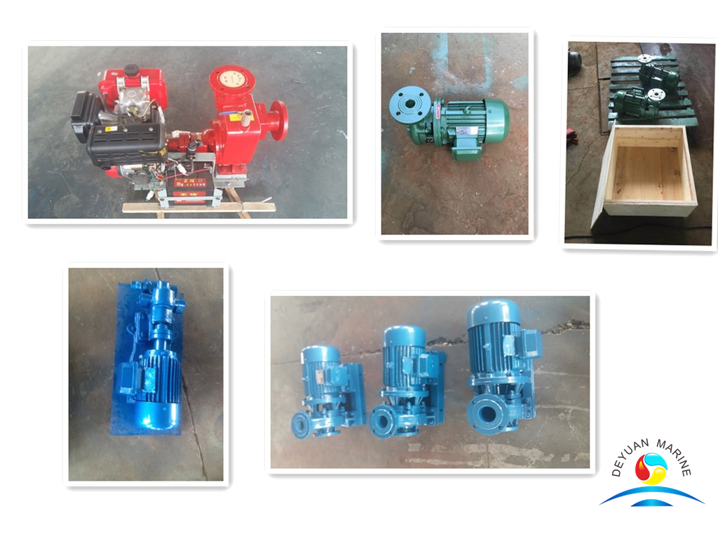 Introduction and classification of marine pumps from China Deyuan marine