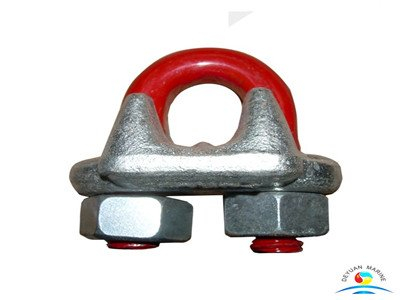 US Type Drop Forged 45# Steel Galvanized Wire Rope Clips