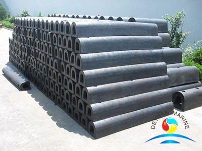 D Type Rigid Rubber Fender for Marine Dock
