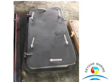 Marine Steel Single Handle Watertight Door For Vessel