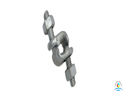 US Type Carbon Steel Forged Galvanize Fist Grip Clips