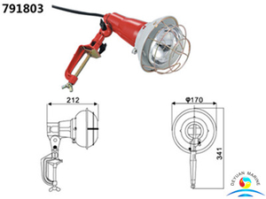 300W Marine Screw-Base Spot Lights For Front Boat