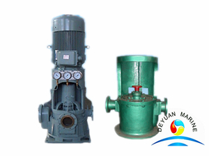 CLZ Series Marine Bronze Vertical Self-priming Centrfugal Sea Water Pump