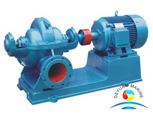 Marine Single-stage Double Suction Mid-open Horizontal Centrifugal Water Pump