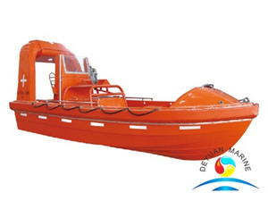 Offshore Training Rigid FRP Fast Rescue Boat With Diesel Engine