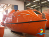 Solas Approved Partially Enclosed Life Boat FRP Lifeboat with Platform Davit