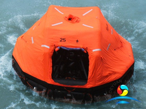 SOLAS Approved Davit-launched Inflatable Liferaft