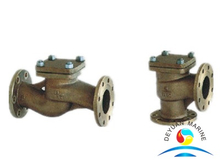 Marine Flanged Bronze Check Valve