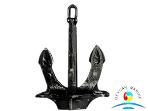 Stockless Hall Anchor Type A Hot Dip Galvanised or Black Painted for sale
