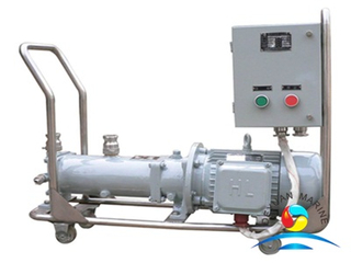 GF Type Horizontal Marine Single-screw Pump with Electric Motor For Ship