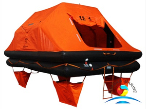 YSR Type 12 Man Throw-overboard Self-righting Yacht Inflatable Liferaft