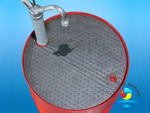 Barrel Top Absorbent Mat